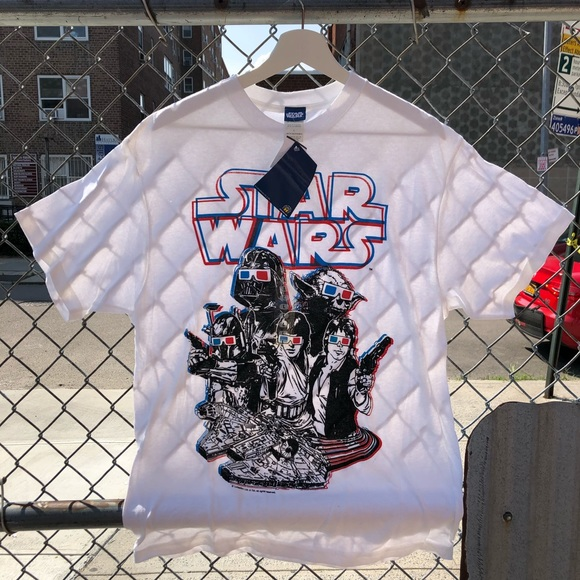 💙 Star Wars 3D glasses graphic tee deadstock